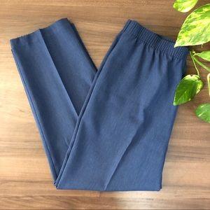 Alia Vintage High Waist Trousers Pants